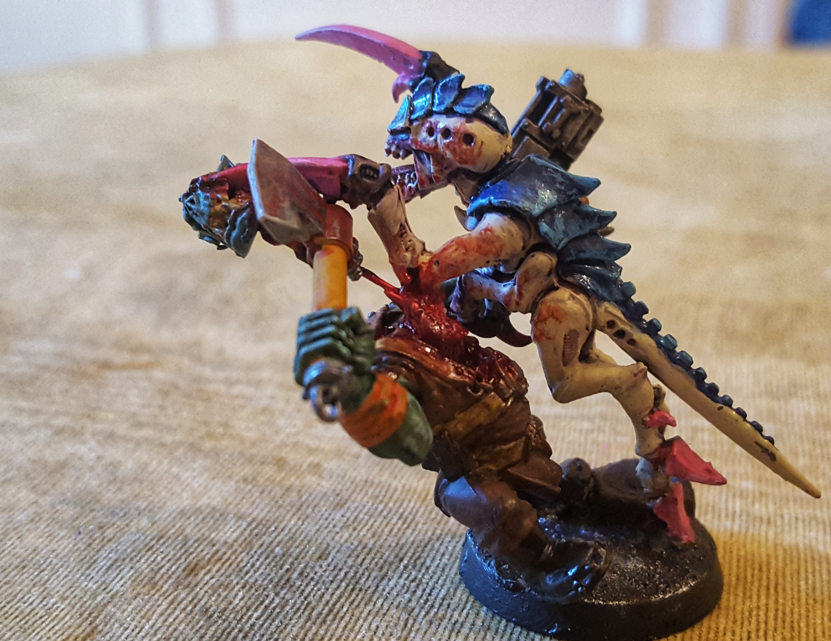 Tyranid Hormagaunt Dueling Orc