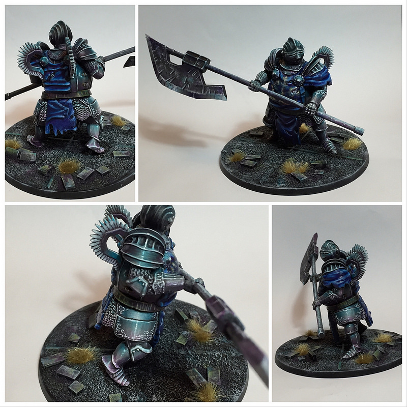 Dark souls Winged Knight from Steamforged Games