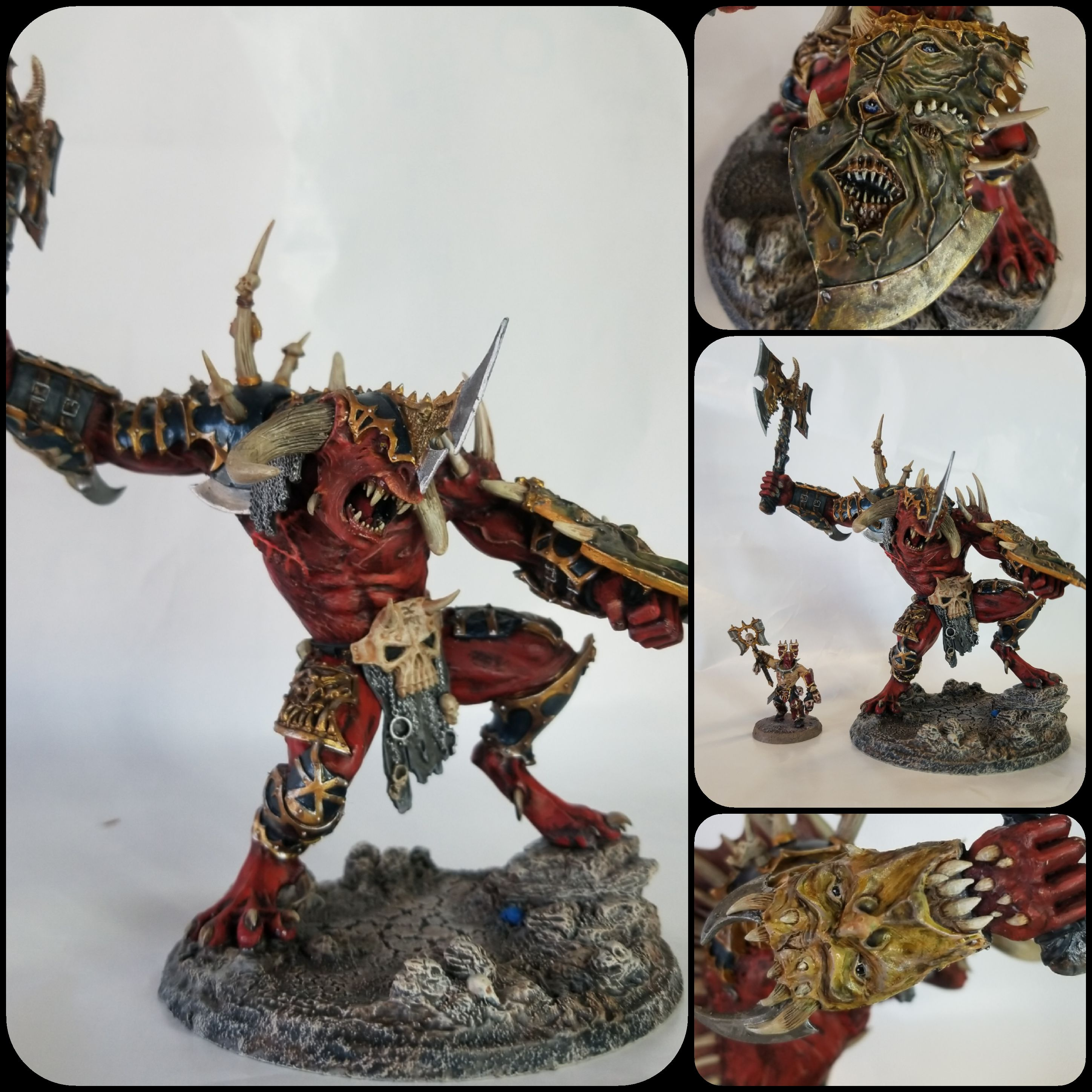 Mazarall the Butcher, Demon Prince of Khorne
