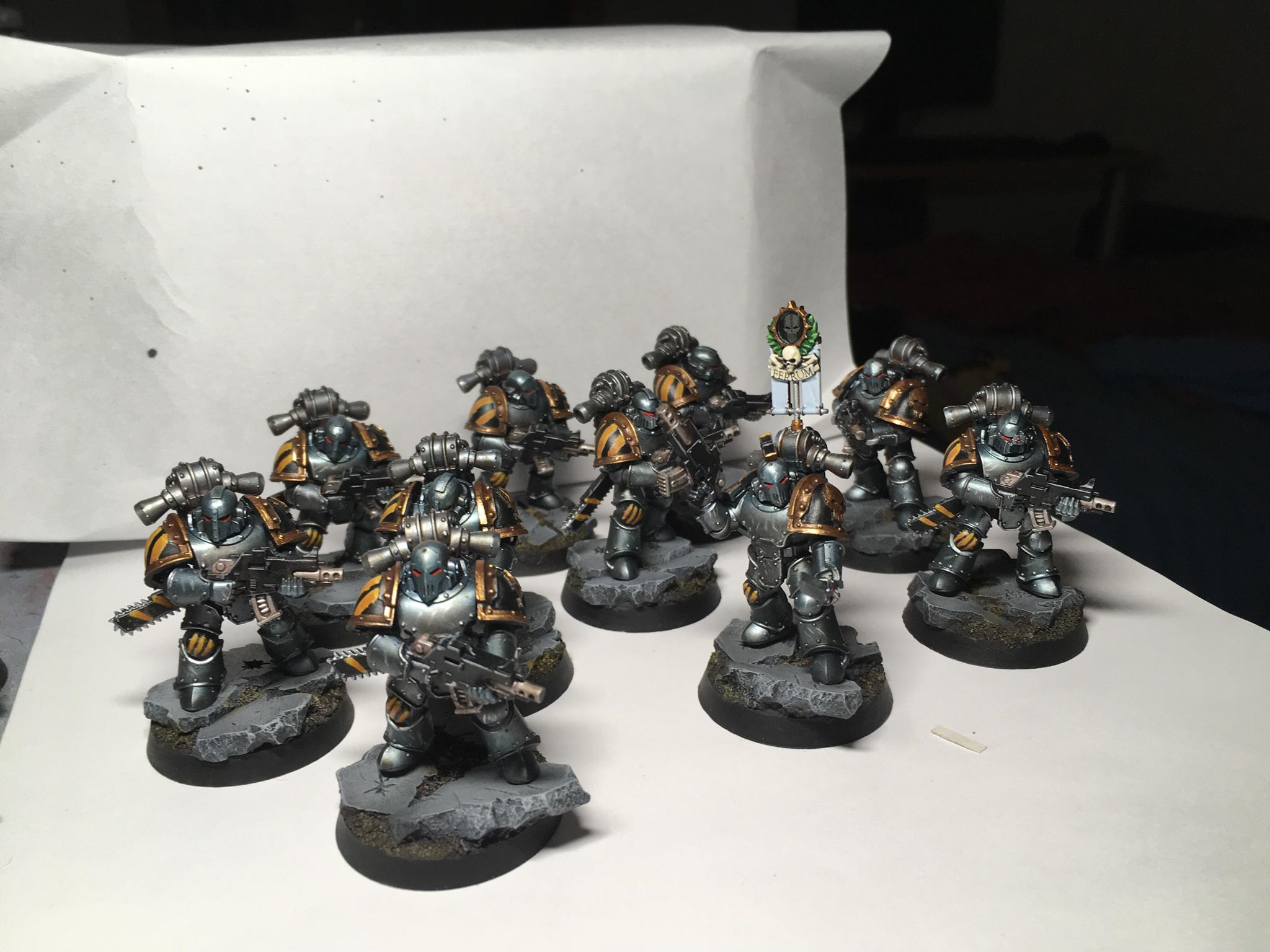 Tactic squad Iron warriors