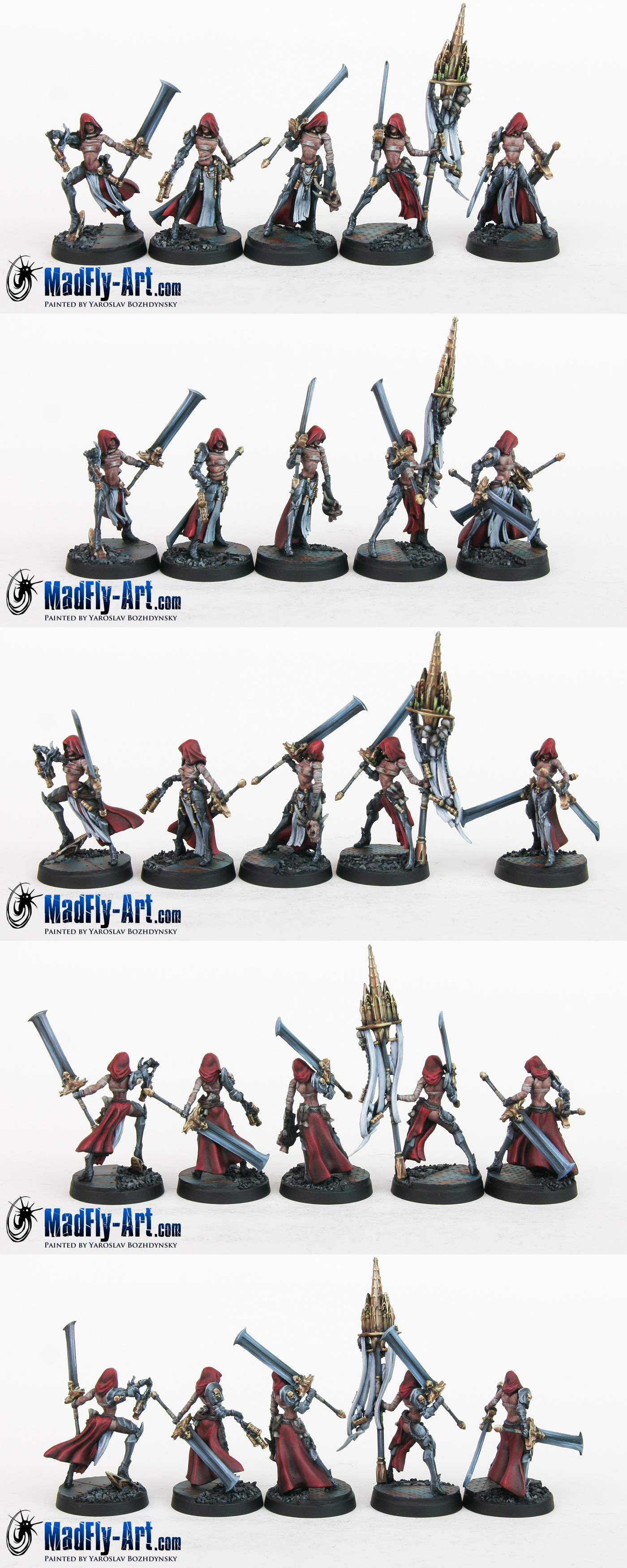 Blade Maidens Command Group