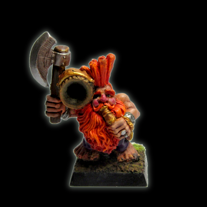Dwarf slayer musician