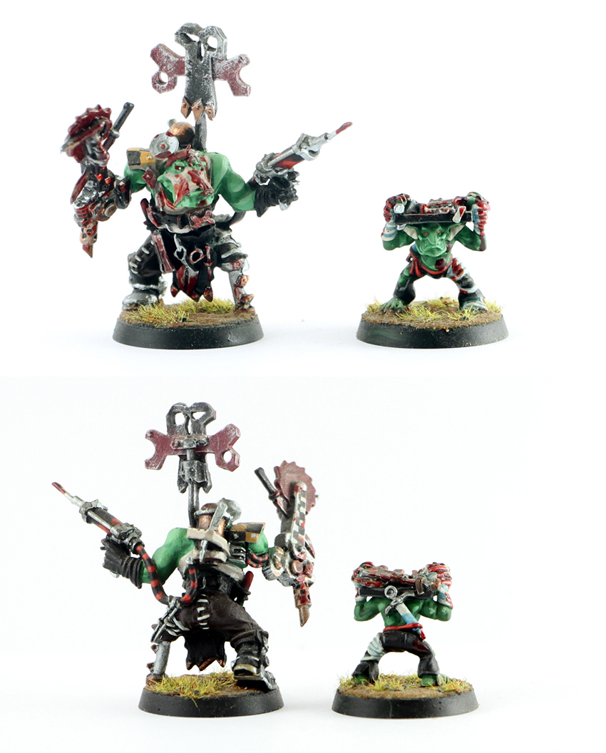 Orks Painboy with Grot Orderly
