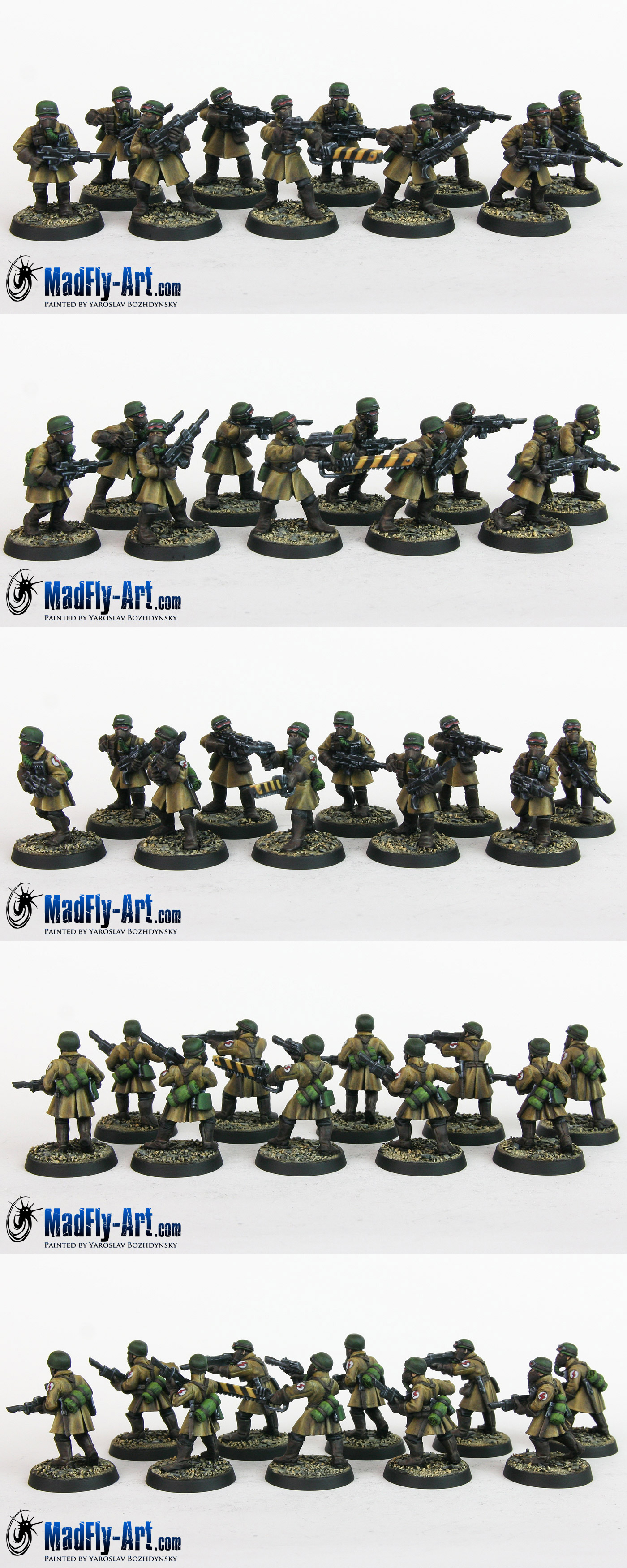 Steel Legion Infantry Squad 6