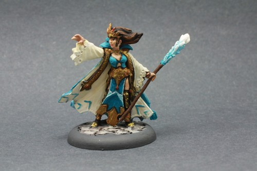 Bombshell Miniature Glacia-Winter Witch