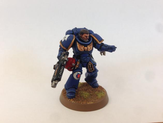 Ultramarines Sergeant