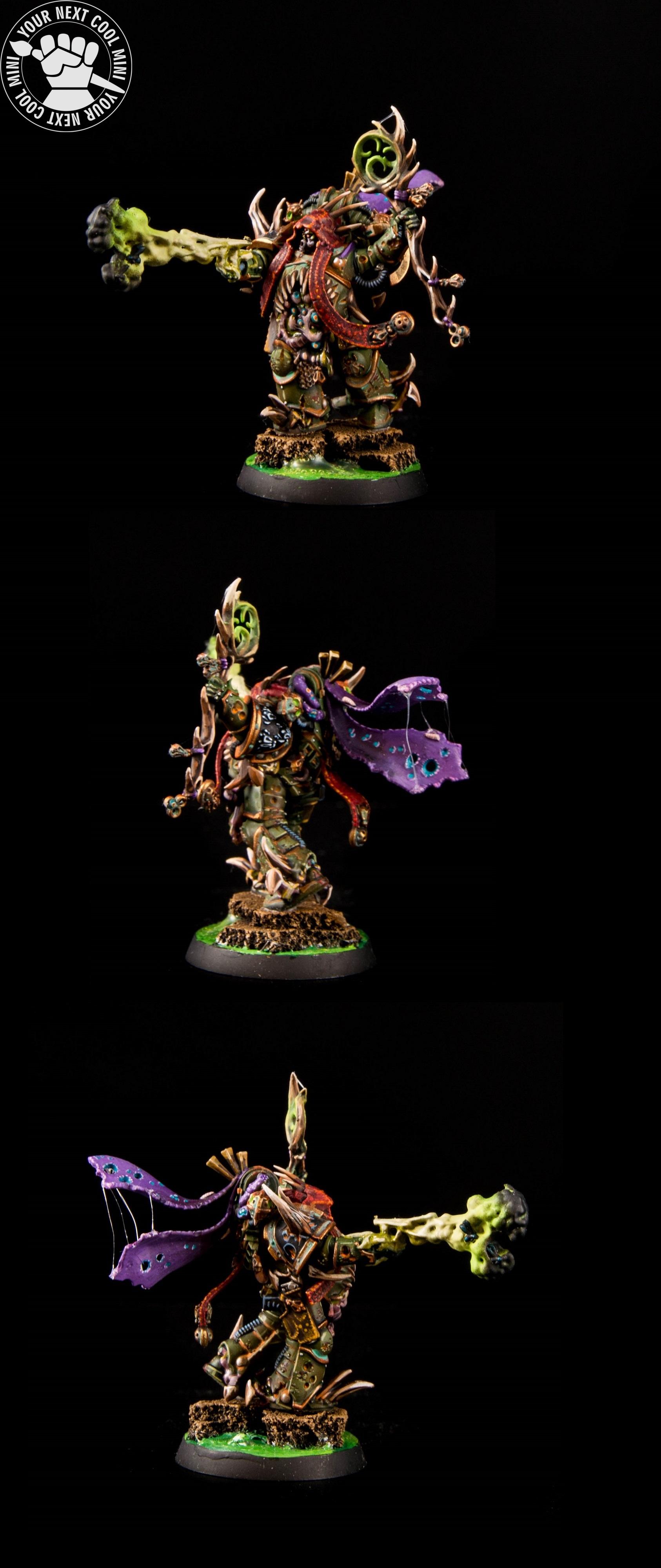 Warhammer 40K, Death Guard Malignant Plaguecaster