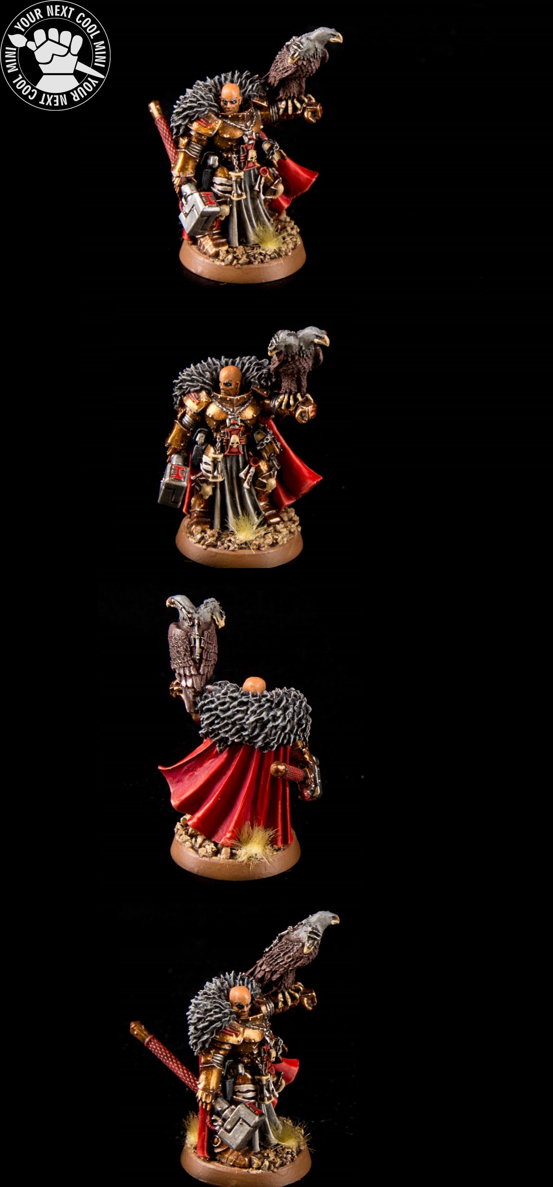 Warhammer 40K Inquisitor Coteaz.