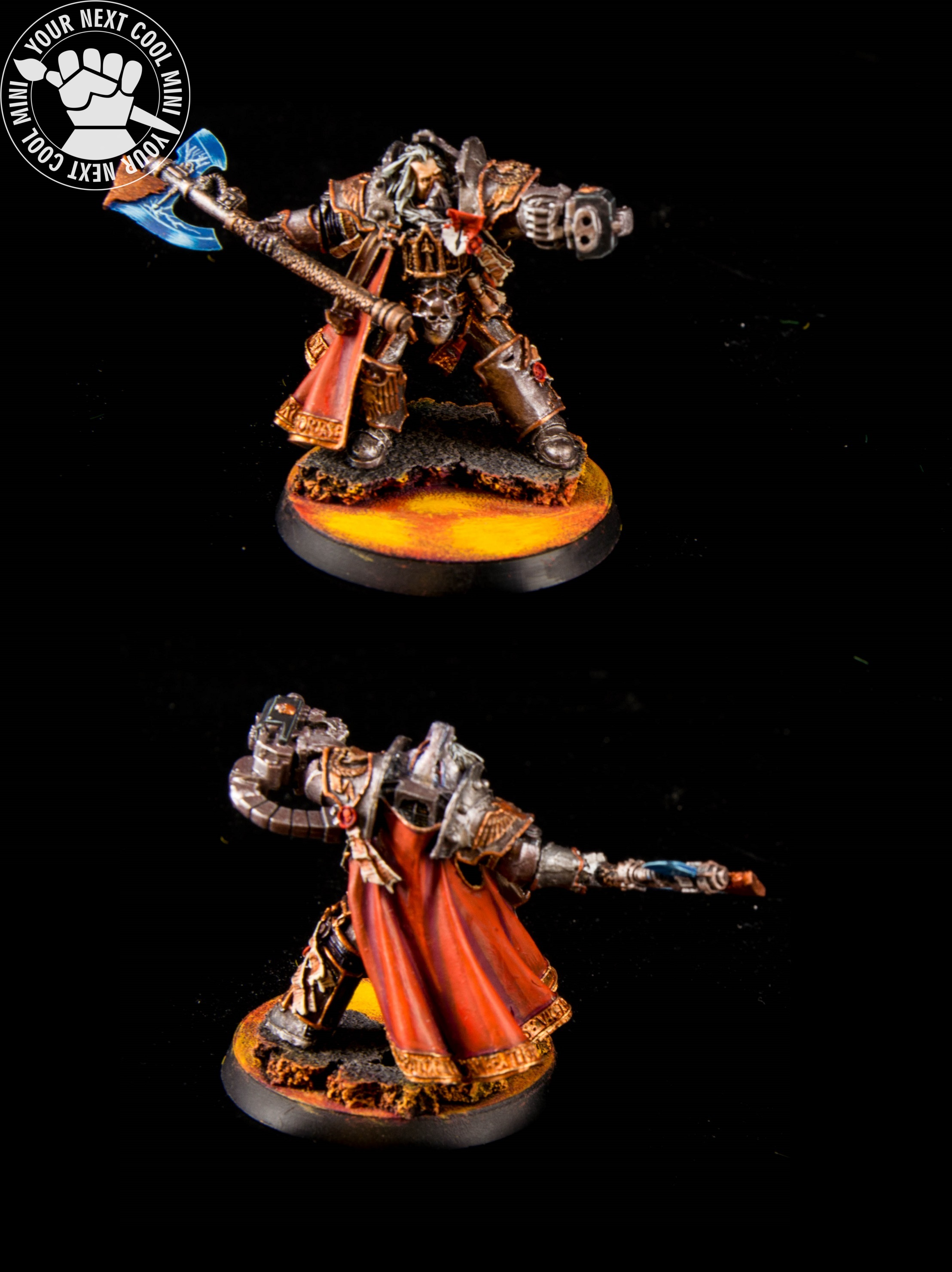 Warhammer 40k, Grey Knight, Grand master in terminator armor