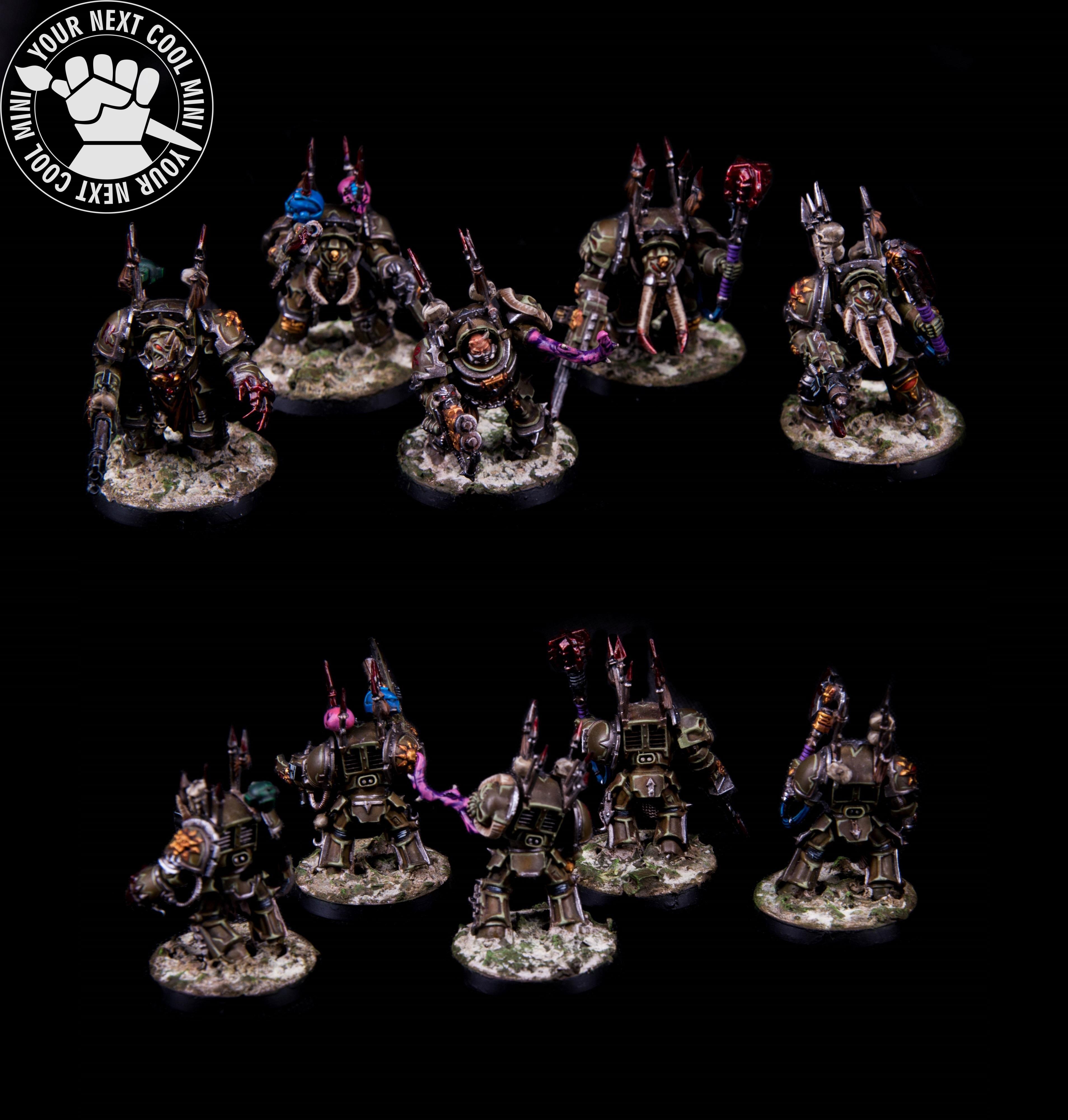 Warhammer 40k, Chaos Space Marin, Chaos Terminators