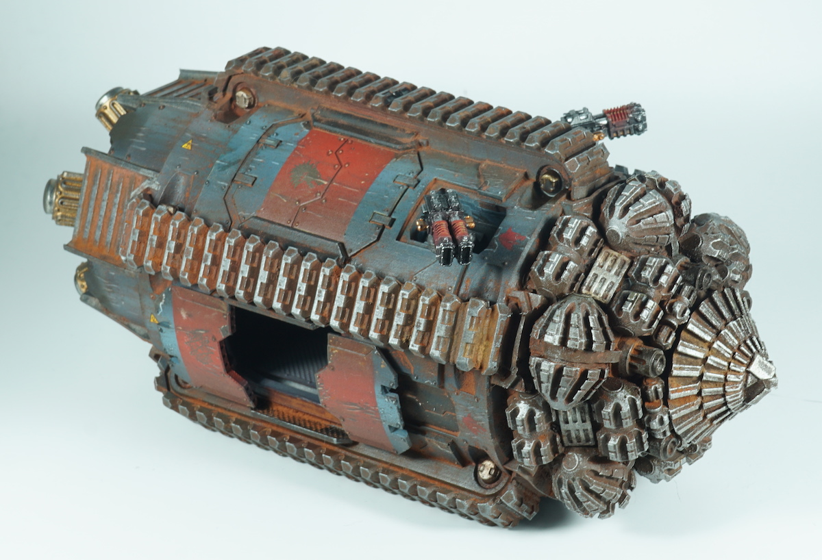Terrax Pattern Termite Assault Drill Space Wolves