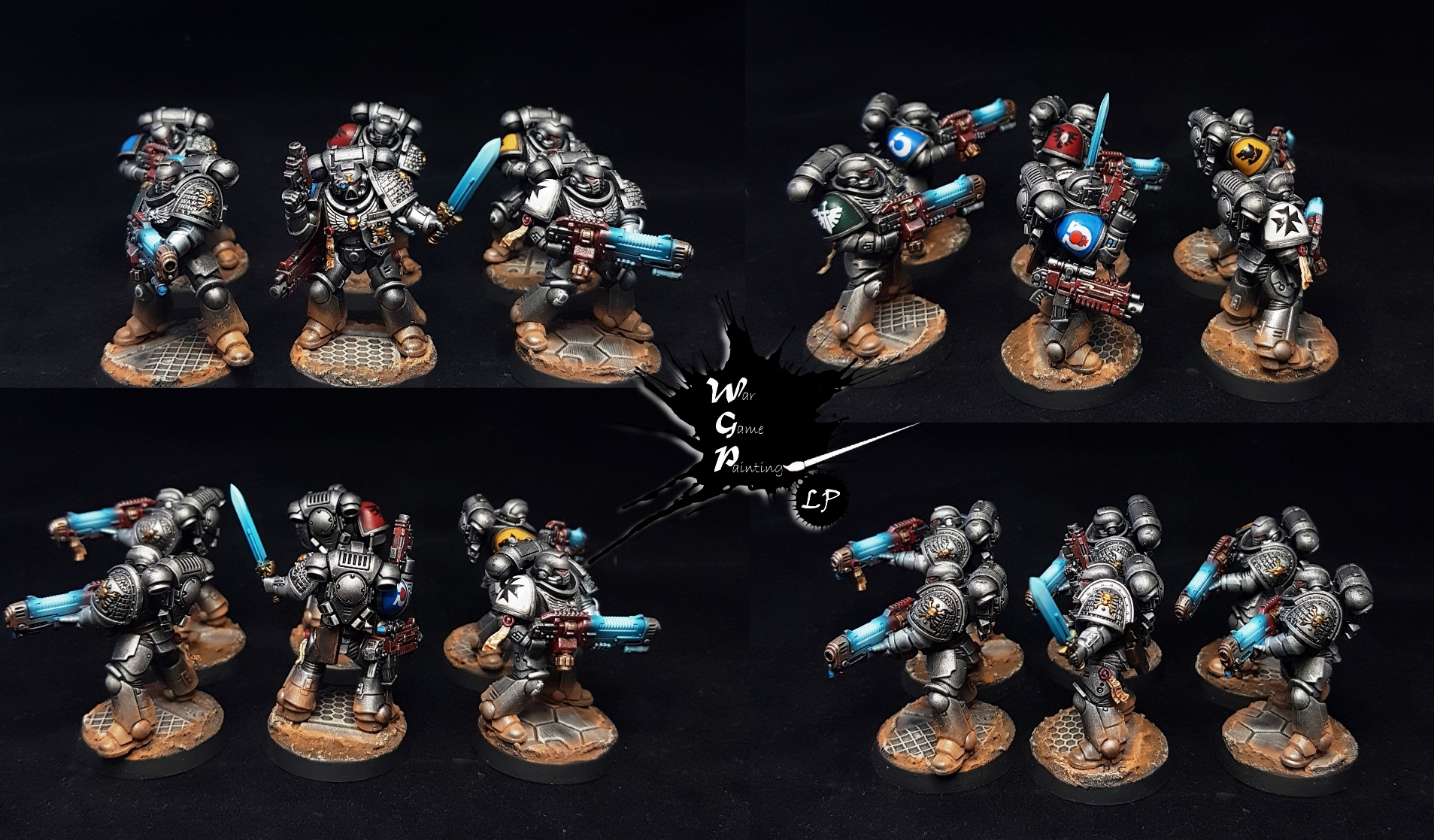 Primaris Deathwatch Hellblasters + Intercessor Sergeant