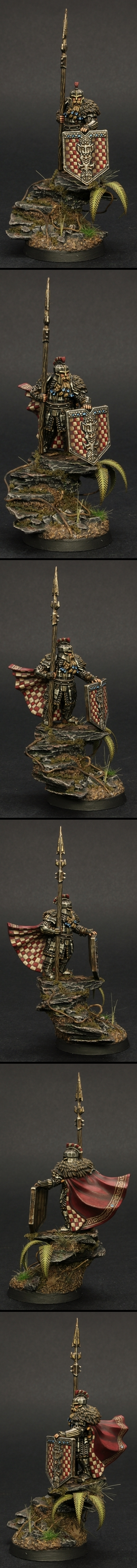 Iron Hills Captain Golden Demon UK BRONZE