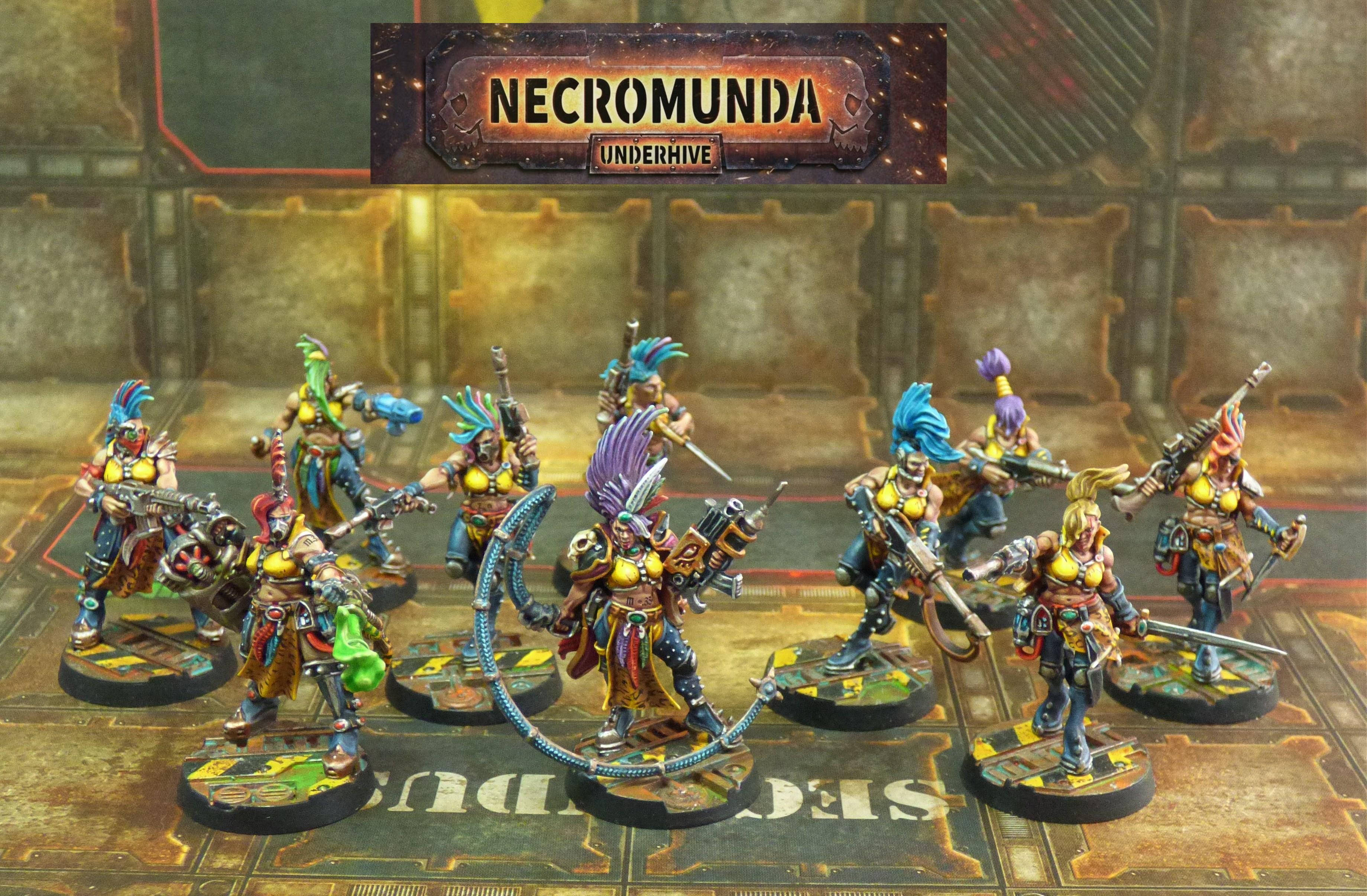 Escher Necromunda Gang