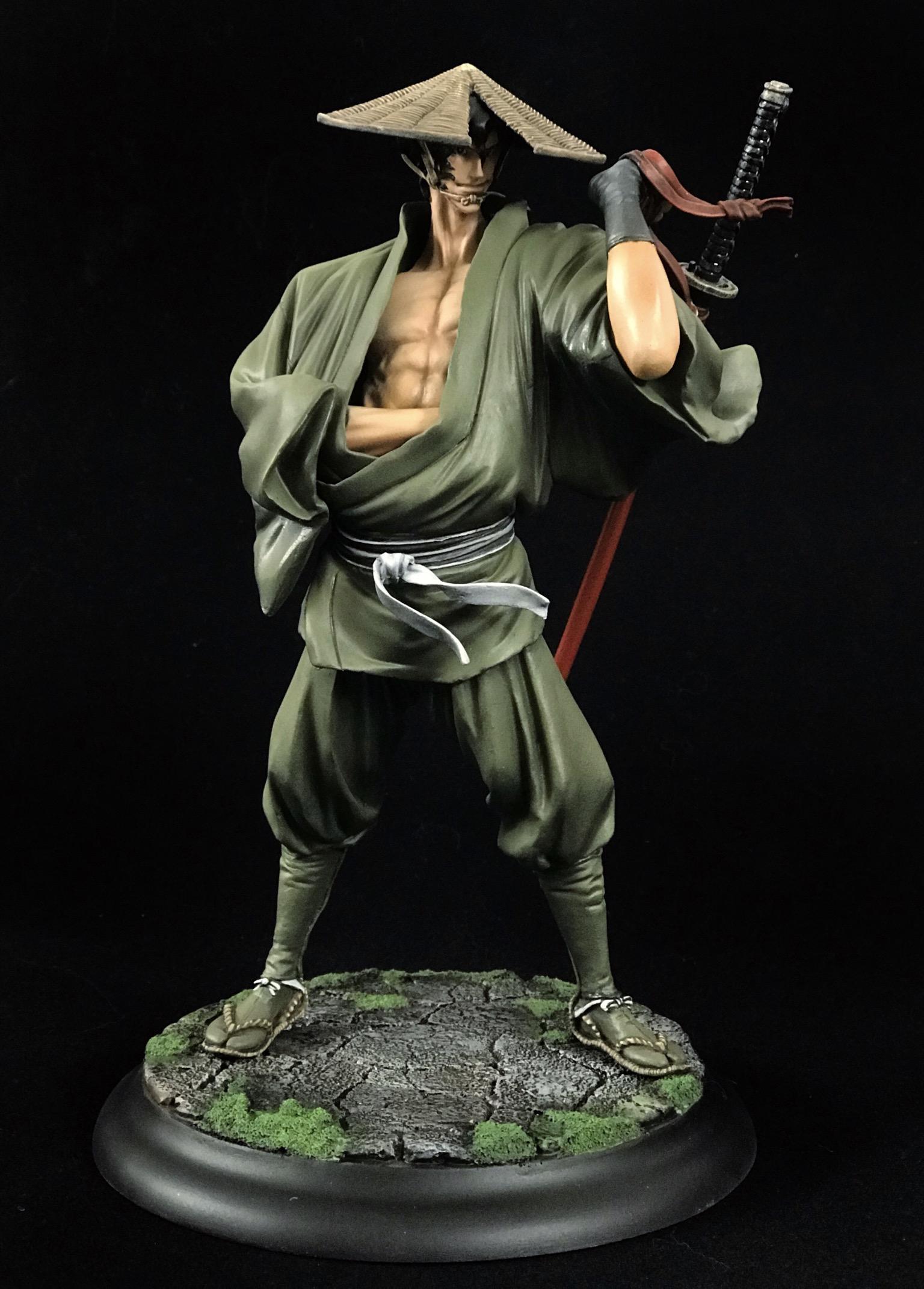 Coolminiornot 1 8 Jubei Ninja Scroll By Al Hard