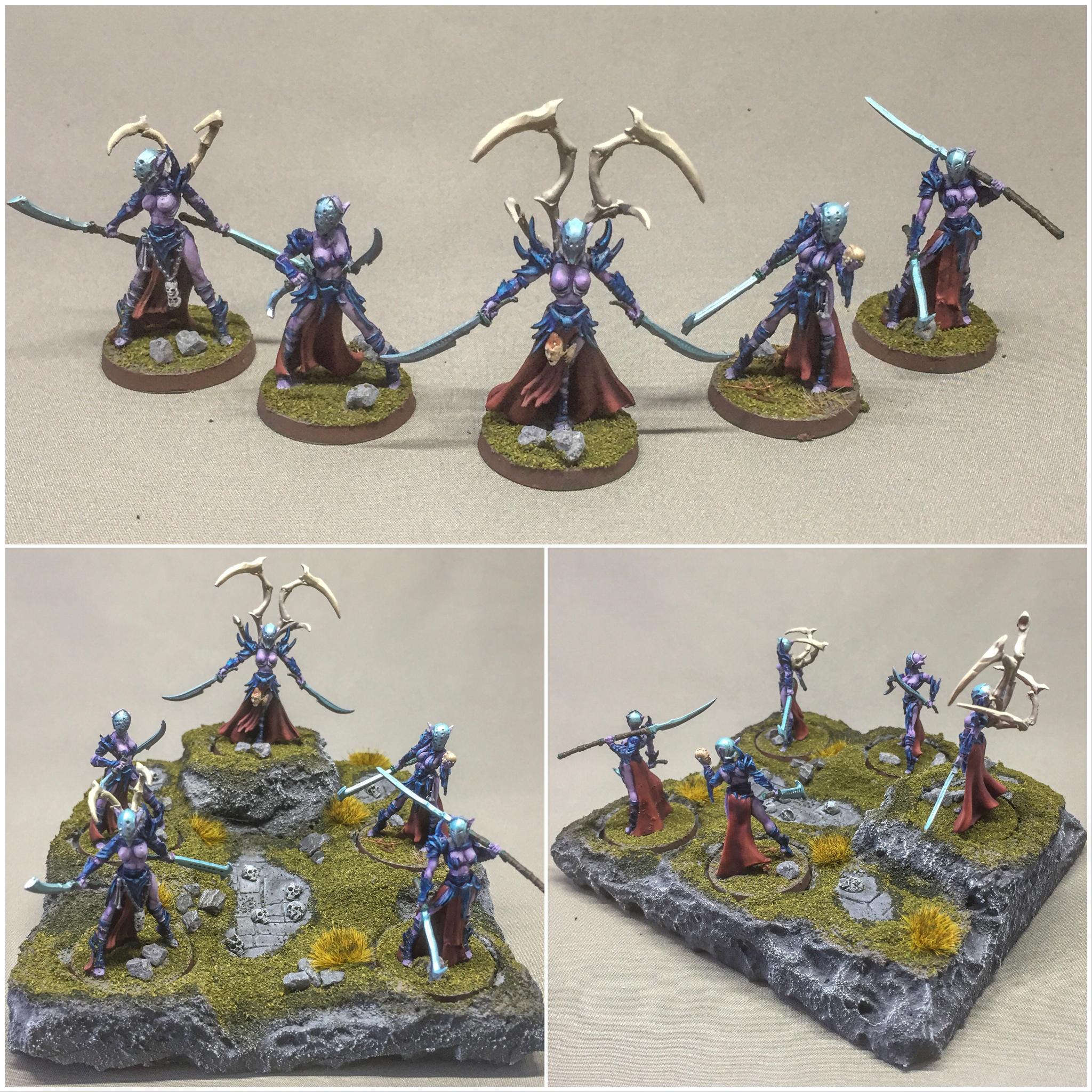 Raging Heroes - Lust Elves Commander