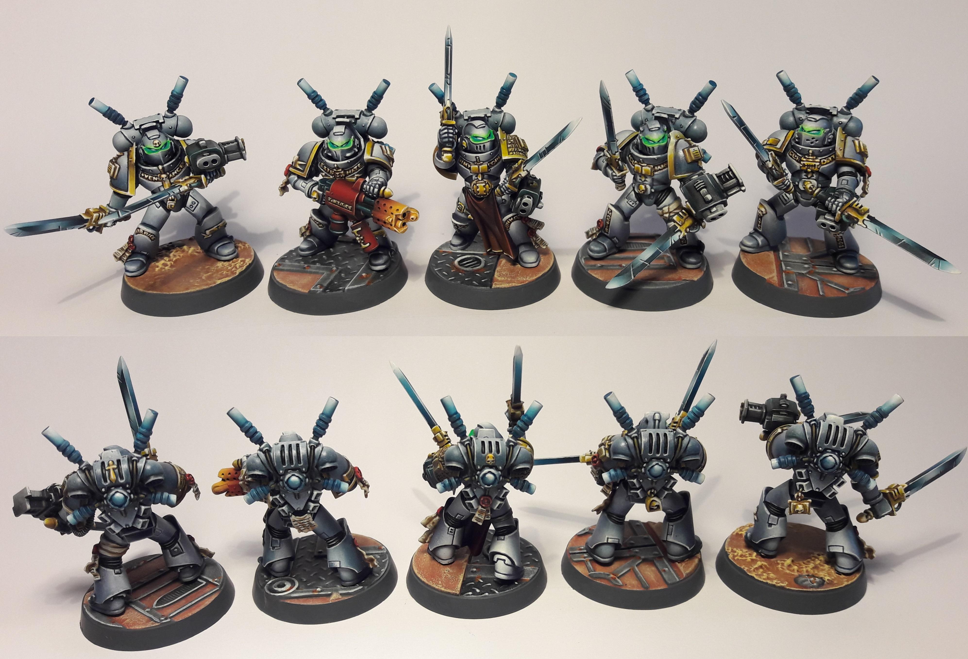 Grey Knights - Interceptor Squad