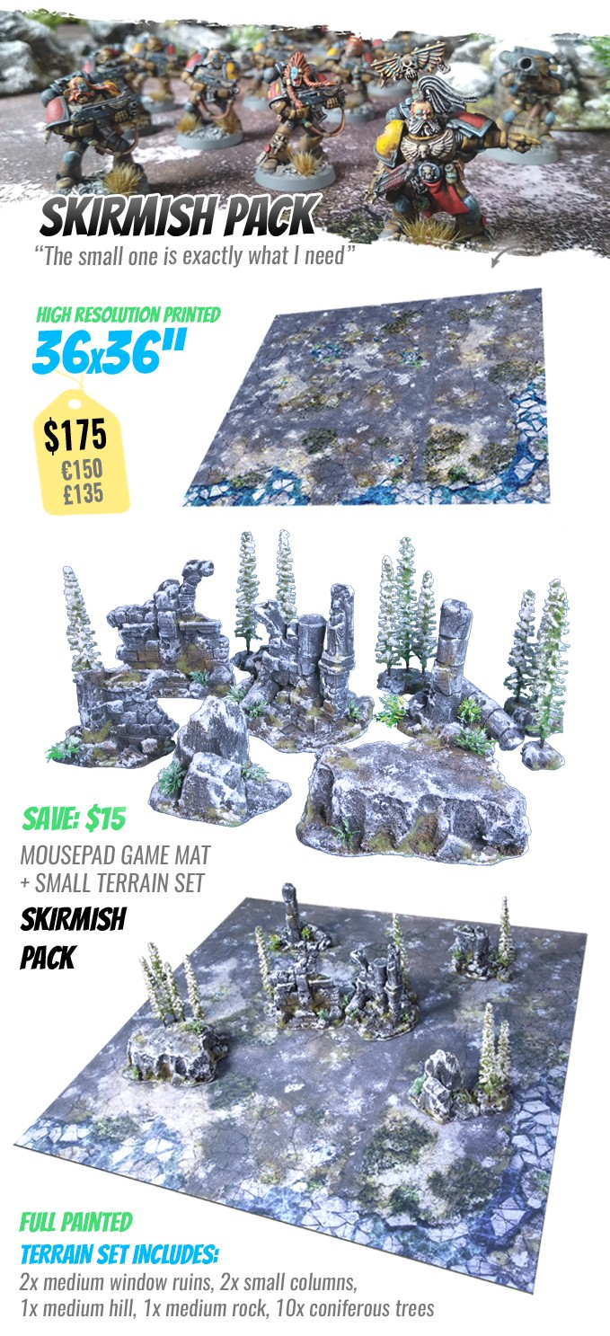 SKIRMISH PACK: StudioLevel GÅRDBÛK Shrine Terrain