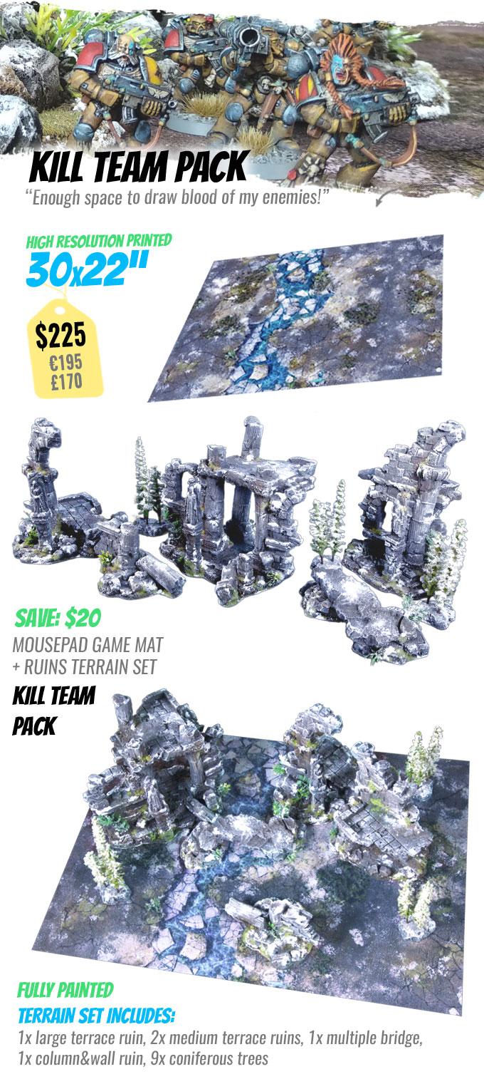 KILL TEAM PACK: StudioLevel GÅRDBÛK Shrine Terrain