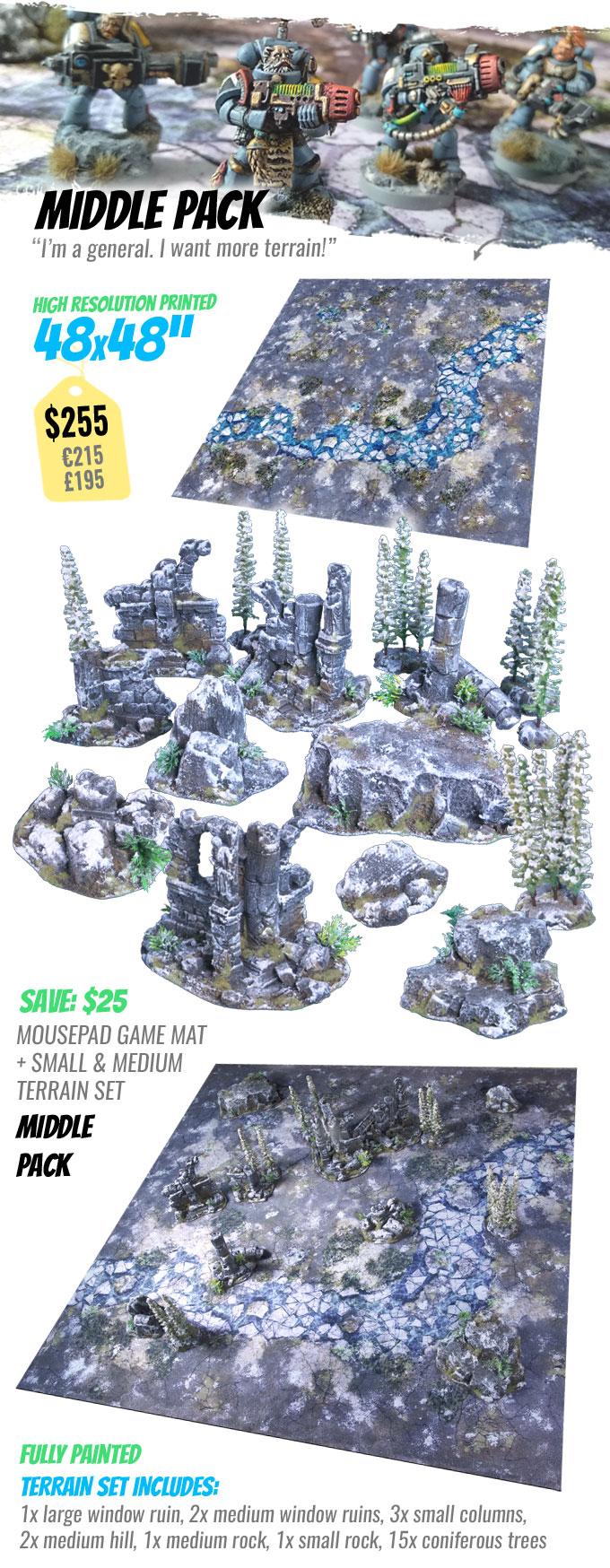 MIDDLE PACK: StudioLevel GÅRDBÛK Shrine Terrain