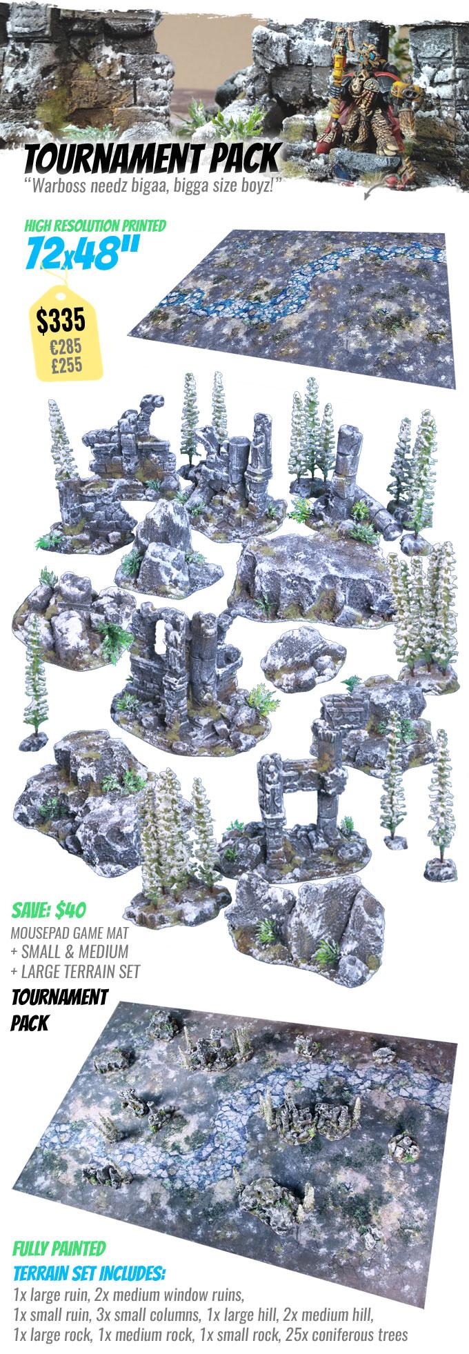 TOURNAMENT PACK: StudioLevel GÅRDBÛK Shrine Terrain