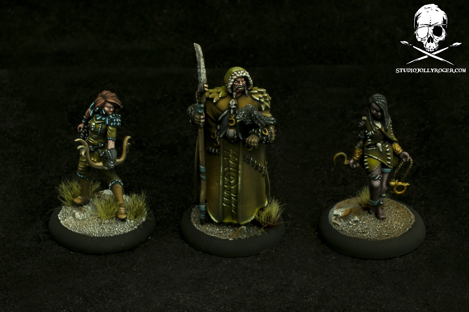 Warmachine and Guild Ball Promo Models