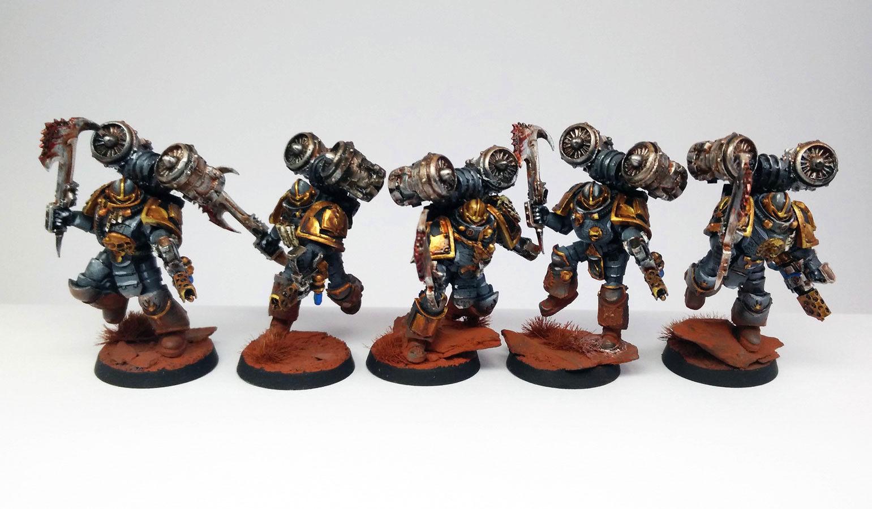 Warhammer 30k Horus Heresey Word Bearers Ashen Circle Space Marines