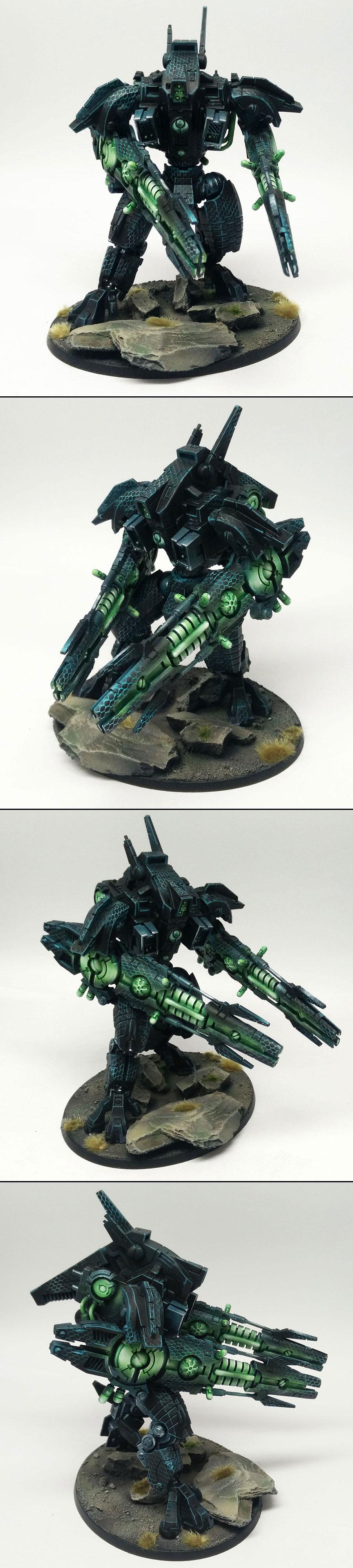 Tau Empire XV107 R'Varna Battlesuit