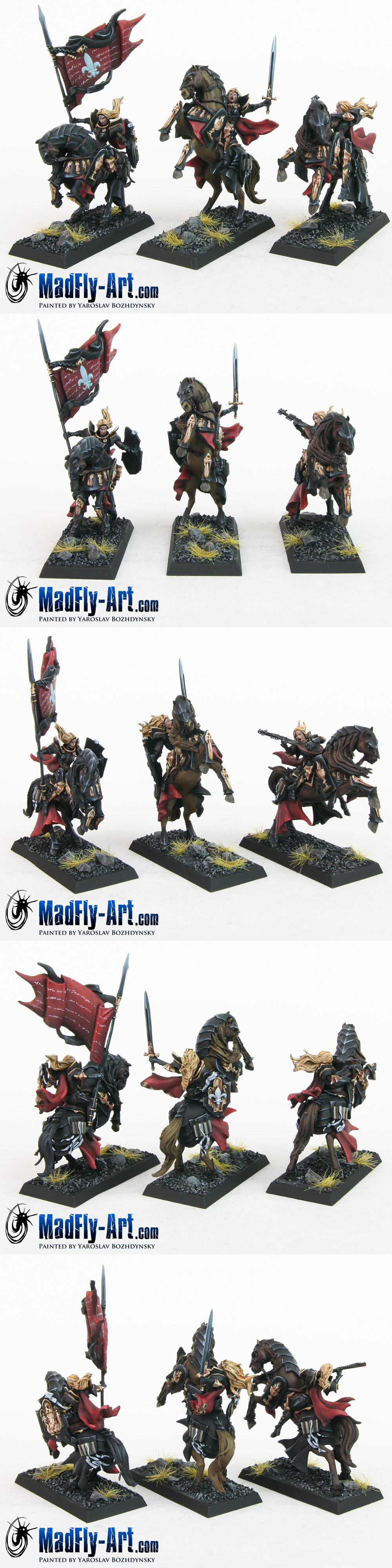 Mounted Knights Command Group