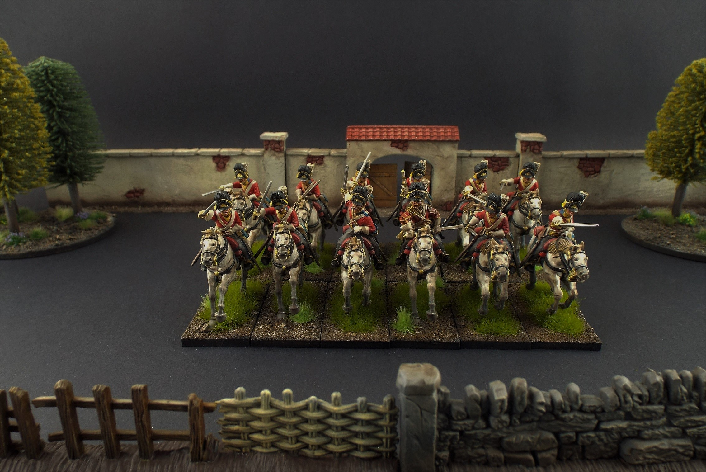 28mm Warlord Games British Heavy Cavalry