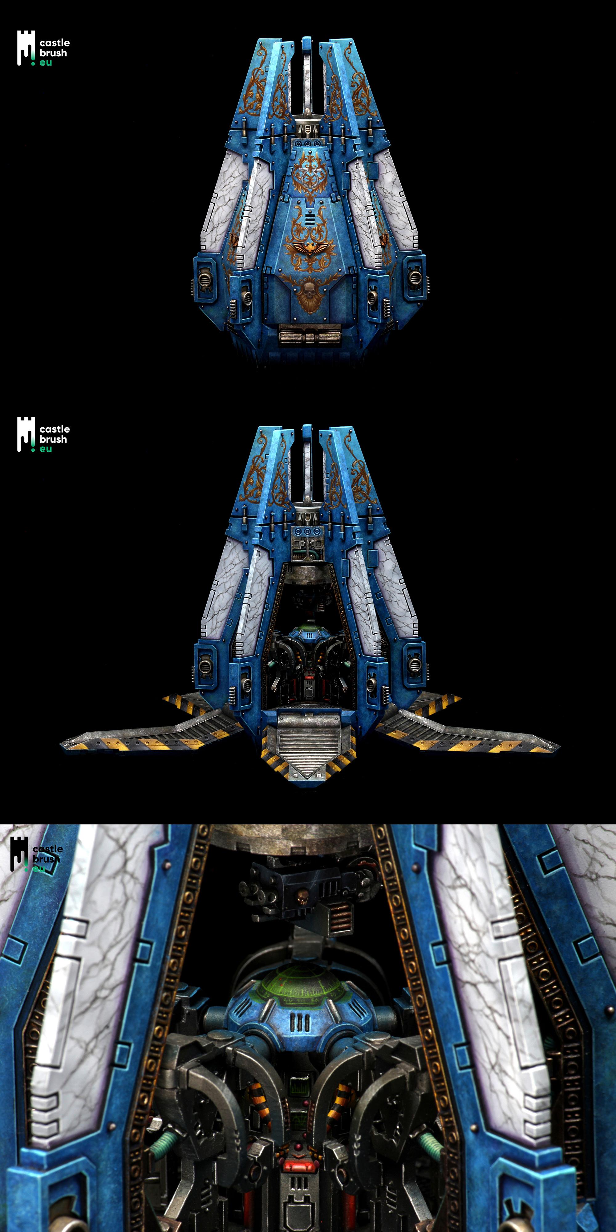 Ultramarines Drop Pod