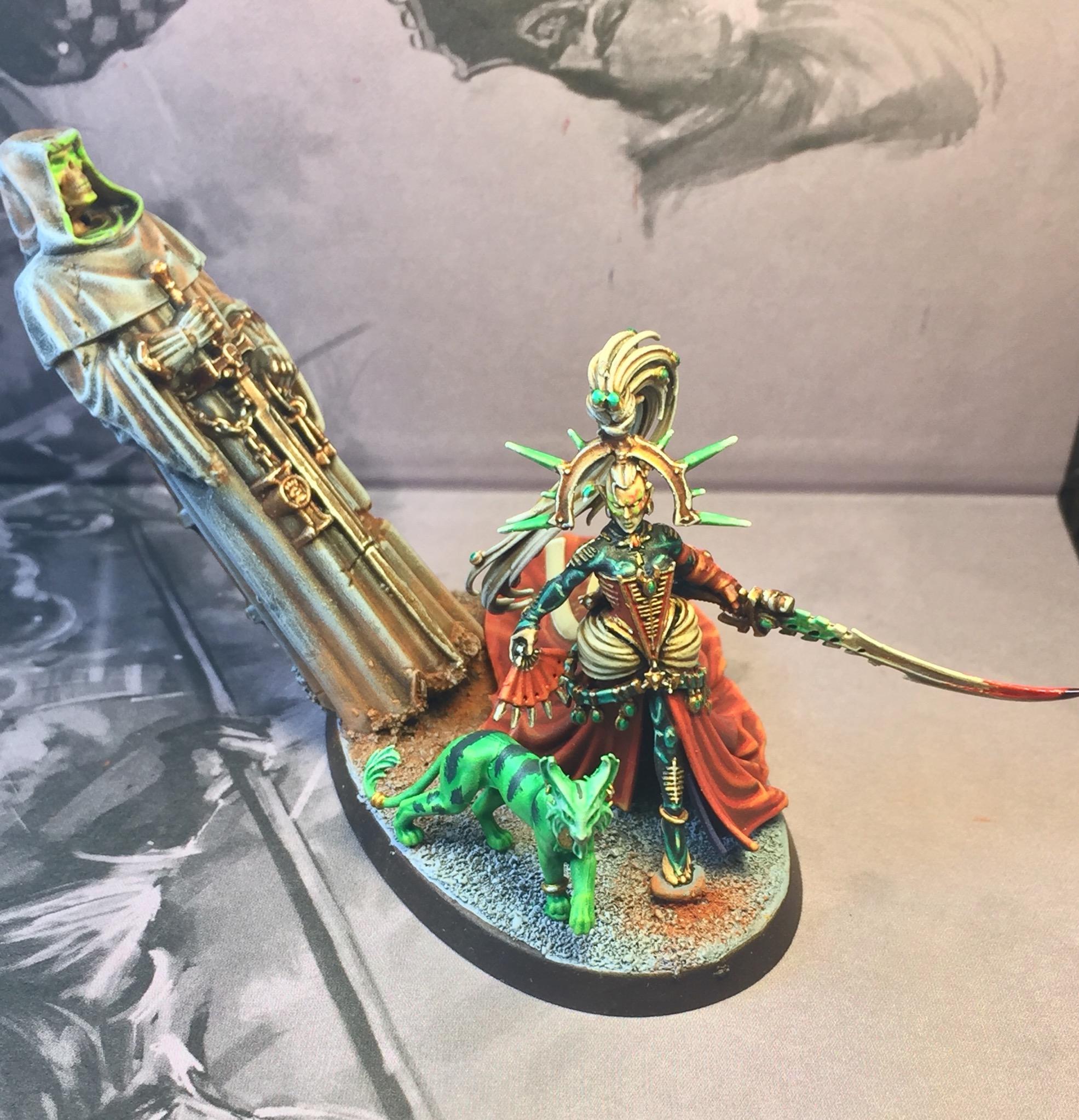 Yvraine/ Dark Eldar Archon or Succubus