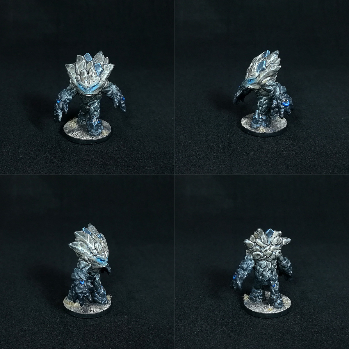 Medium Earth Elemental Miniature