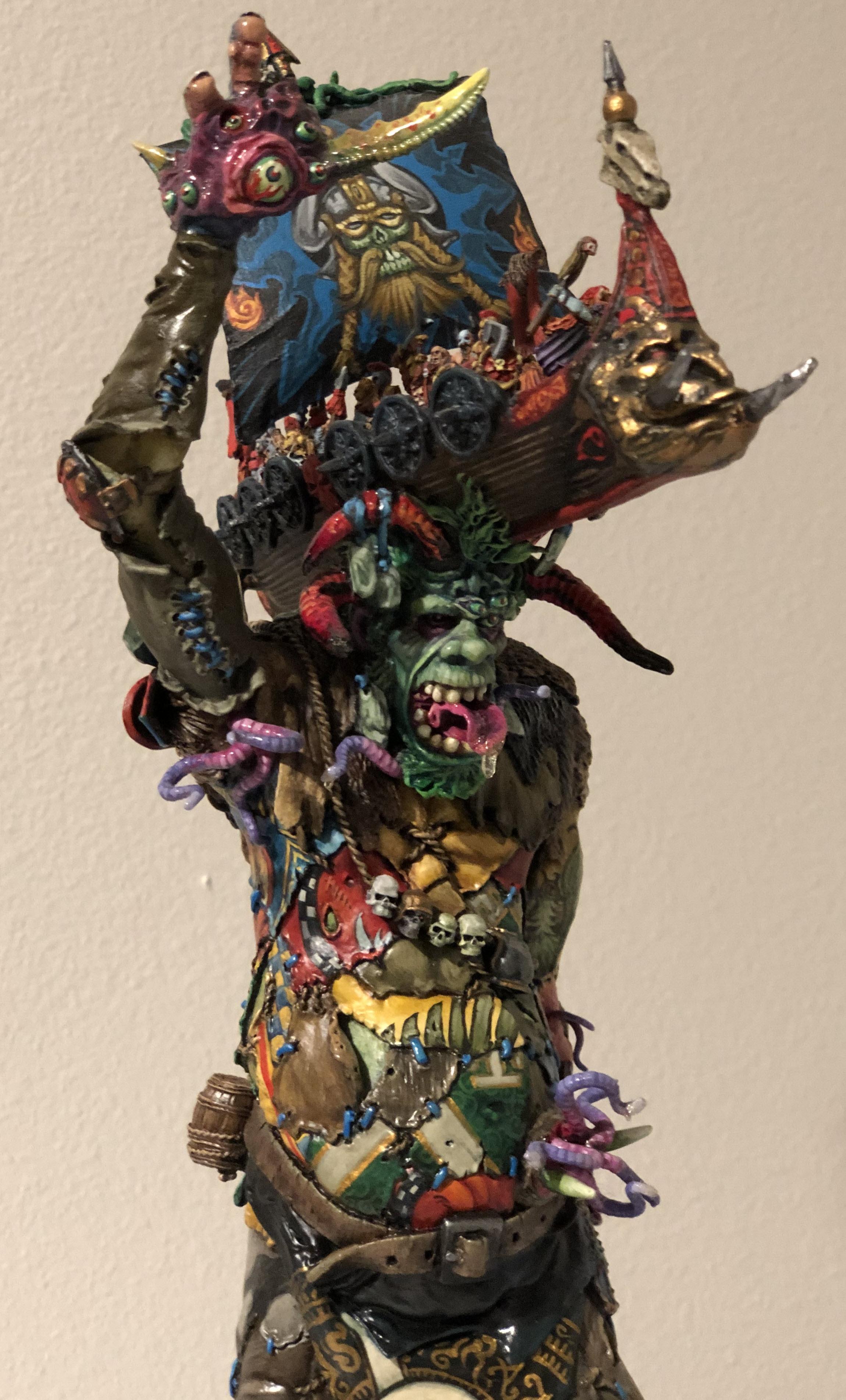 Forge World Chaos Giant - Golden Demon Winner