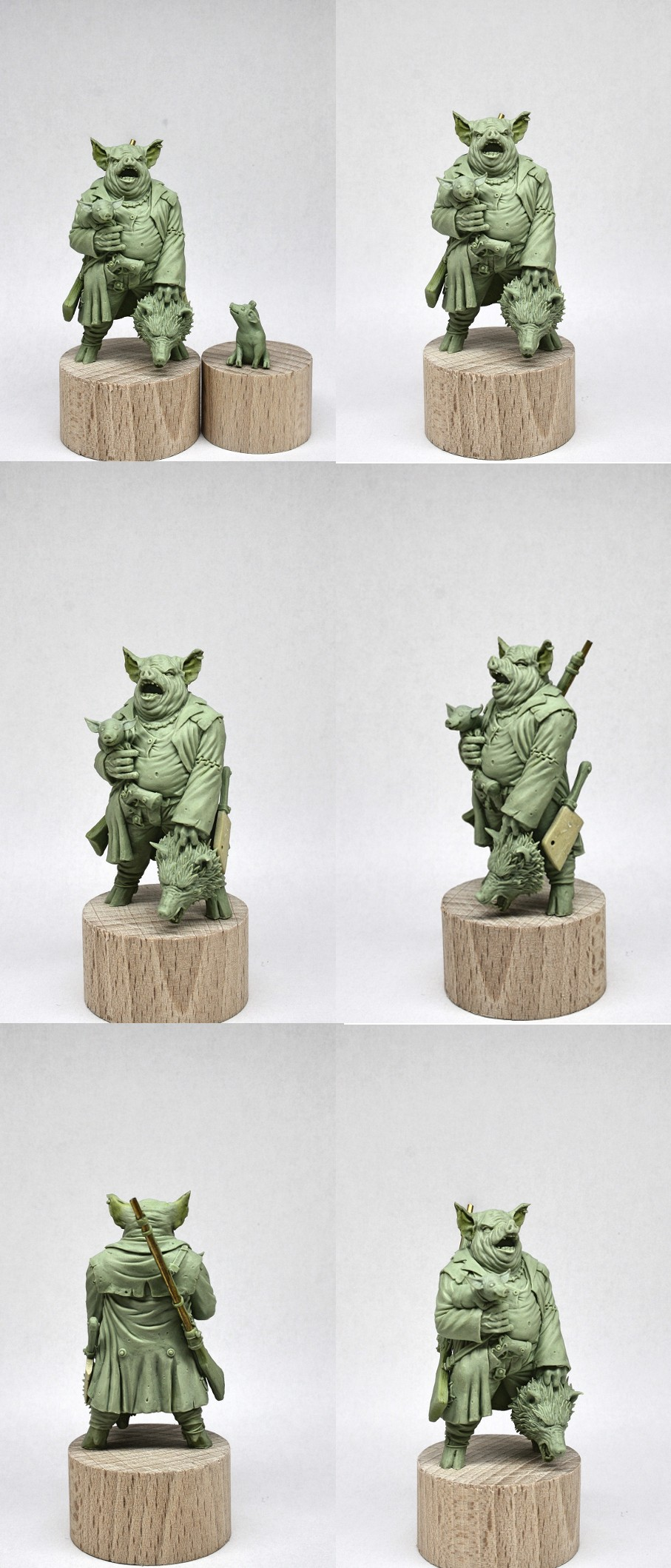 GHERAR THE PIG (54mm)