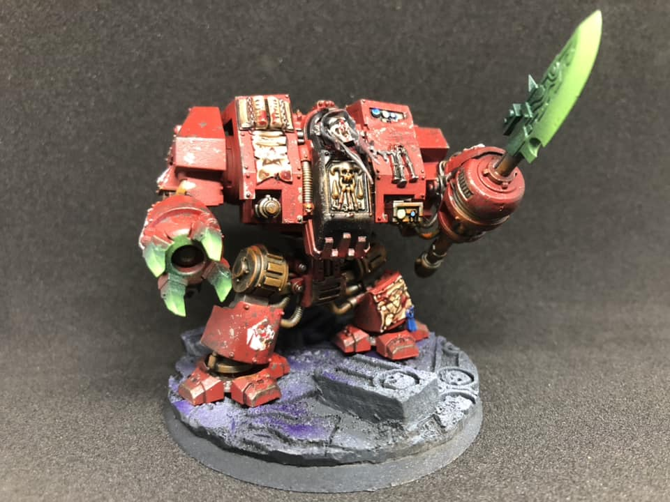 Blood Angels Librarian Dreadnought (Flesh Eaters)