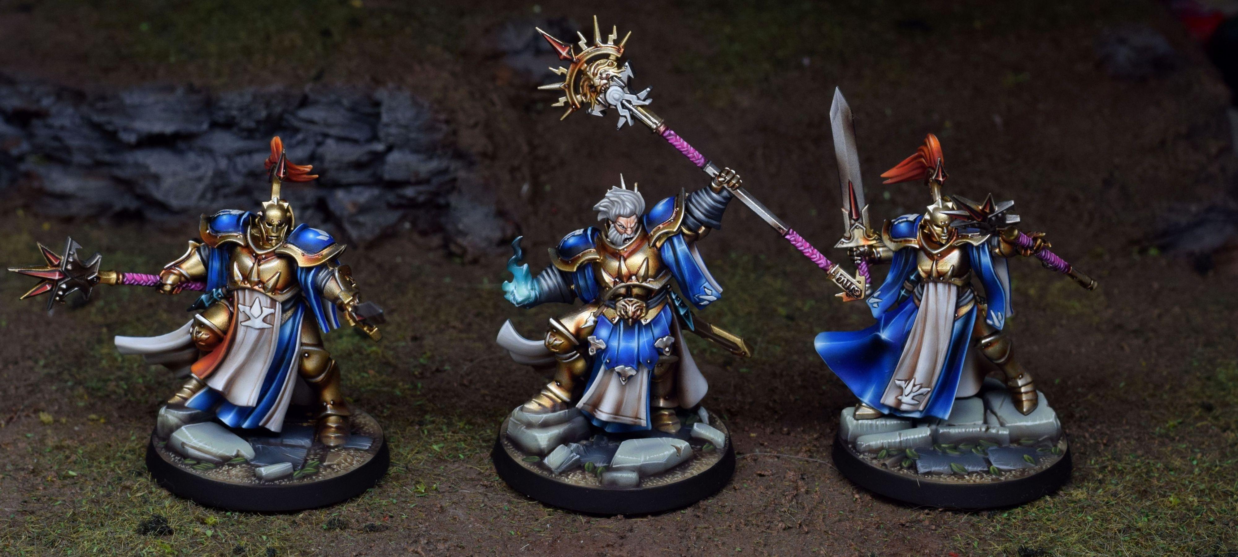 Warhammer Underworlds Nightvault Stormsire's Cursebreakers