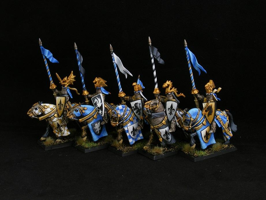 Bretonnian Knight Unit