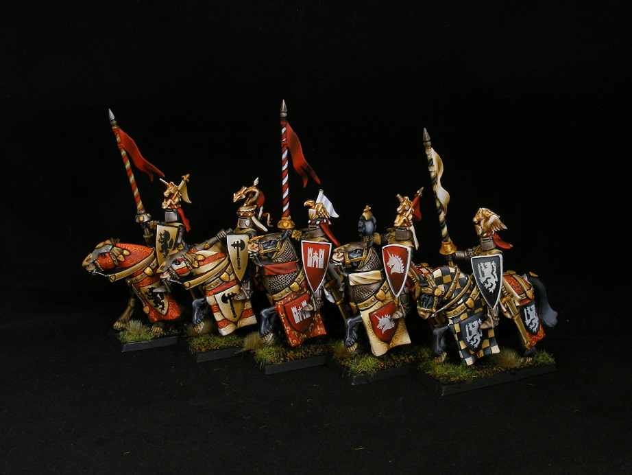 Bretonnian Knight Unit