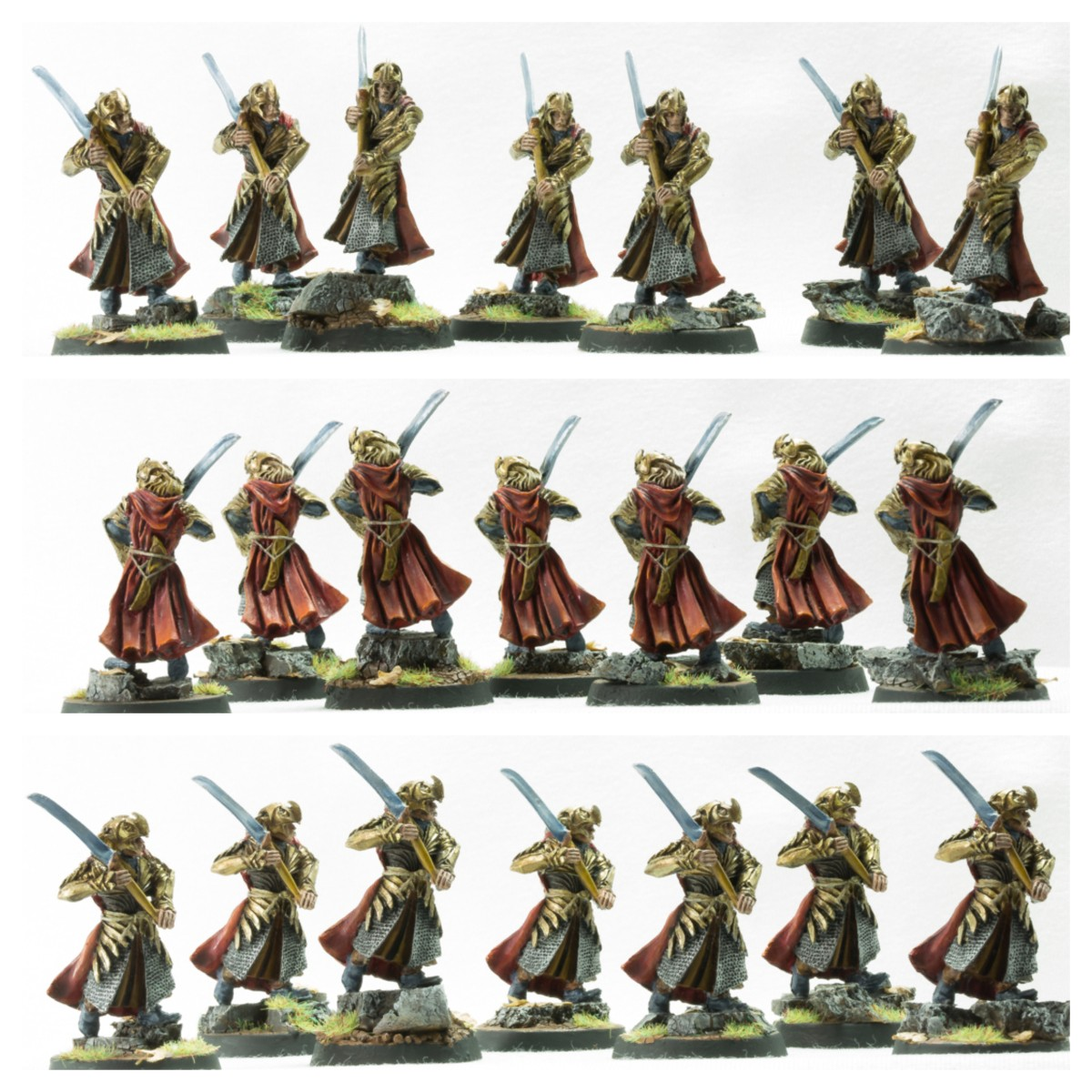 Galadhrim warriors, Haldir's Elves