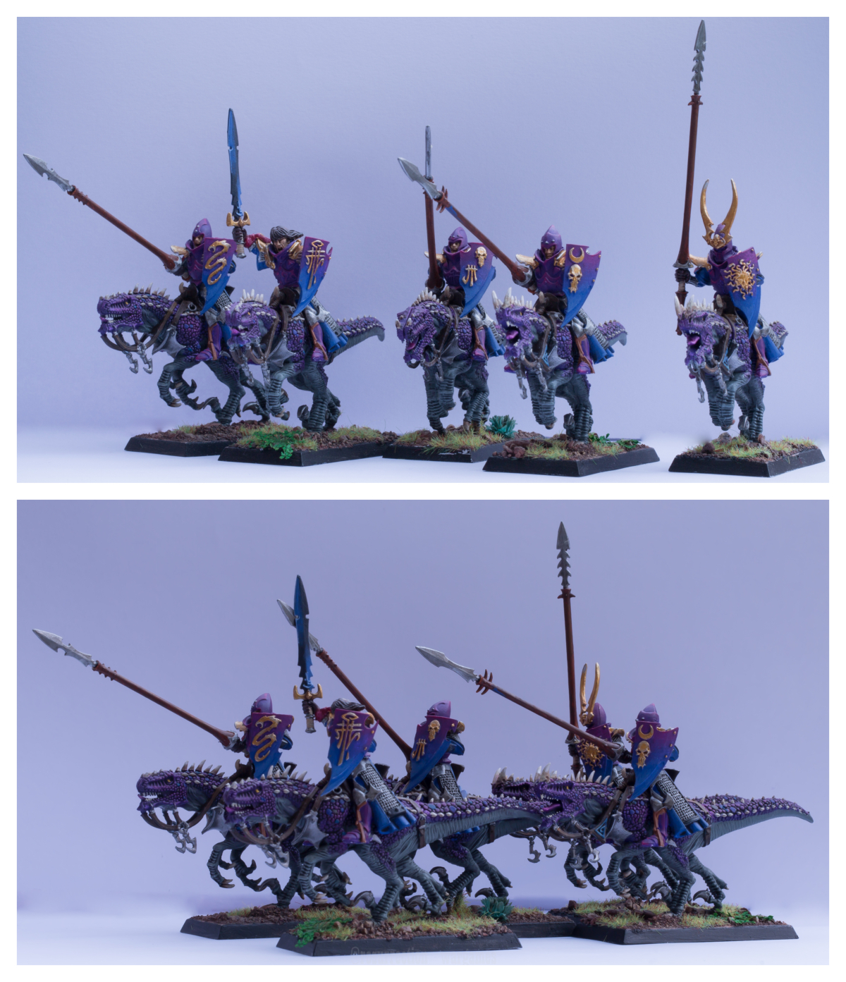 Cold one knights, Drakespawn knights