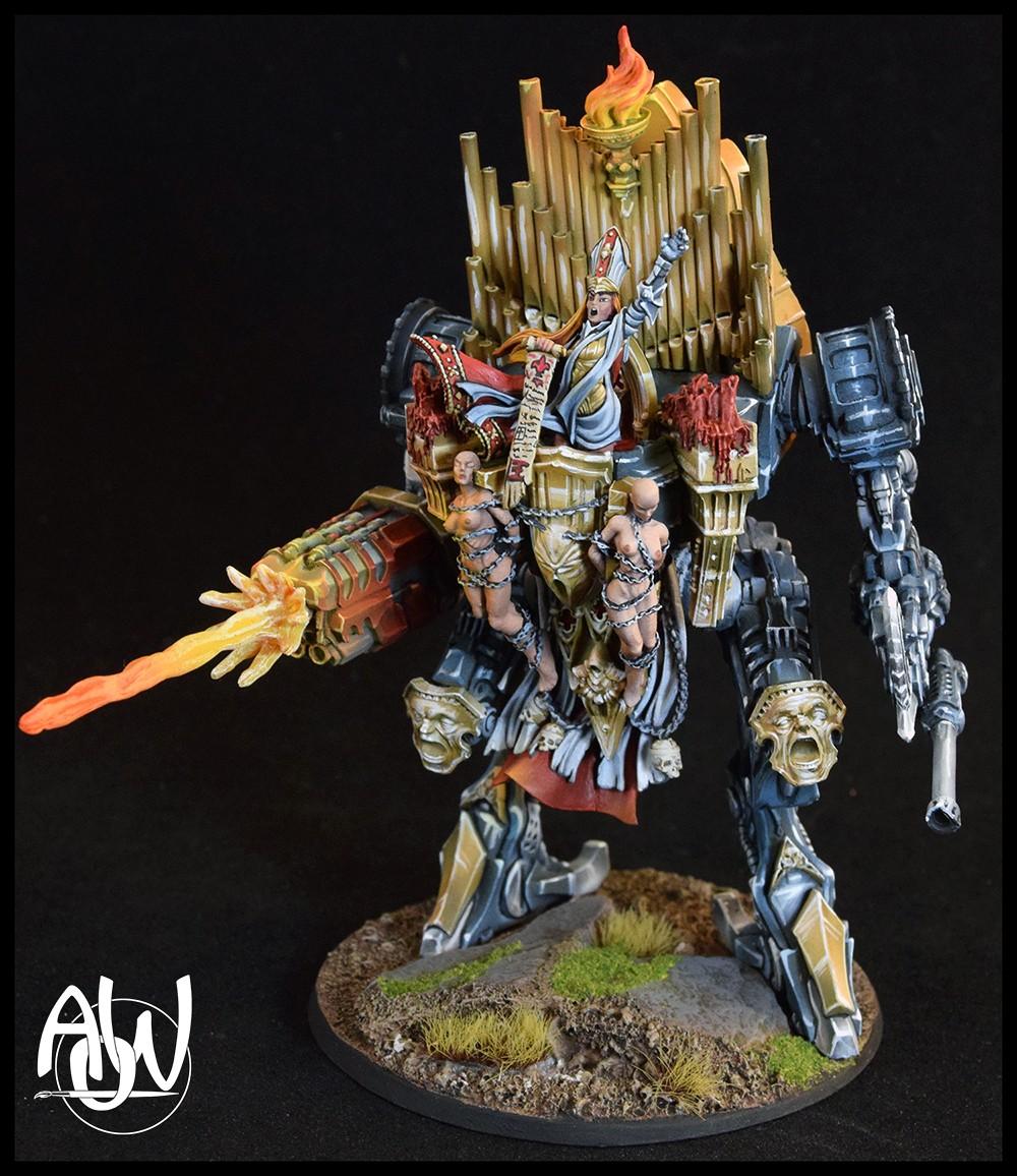 Raging Heroes War Pulpit