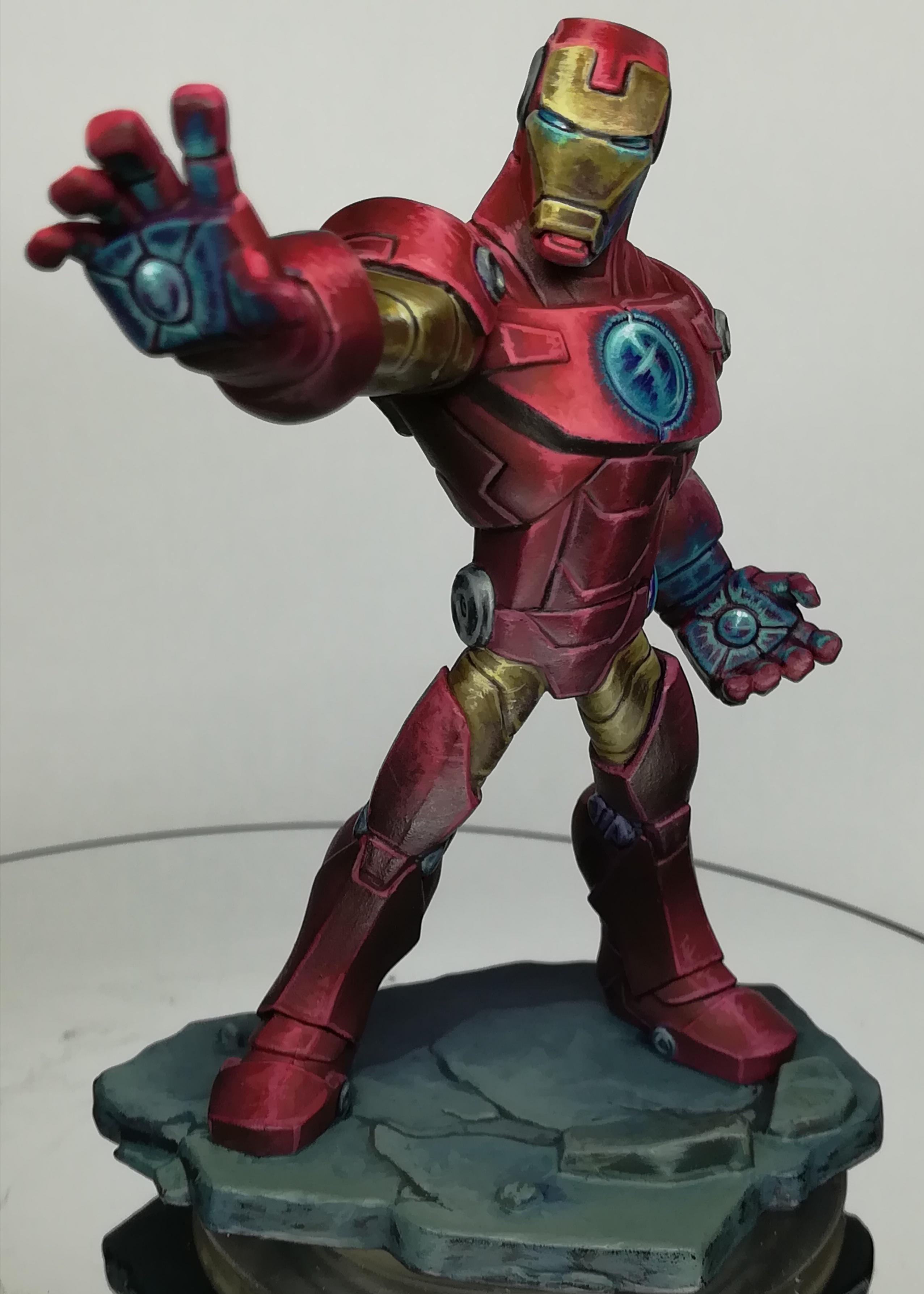 Disney infinity Iron Man Repaint