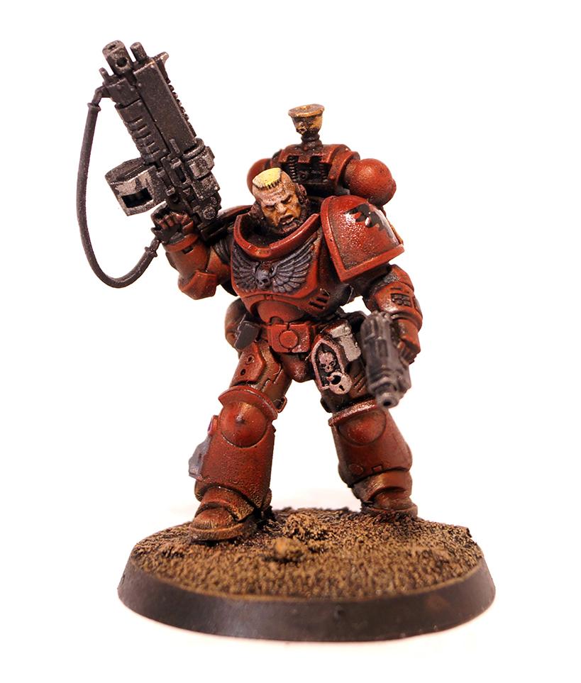 Blood Angels Primaris Lieutenant - Space Marine Character