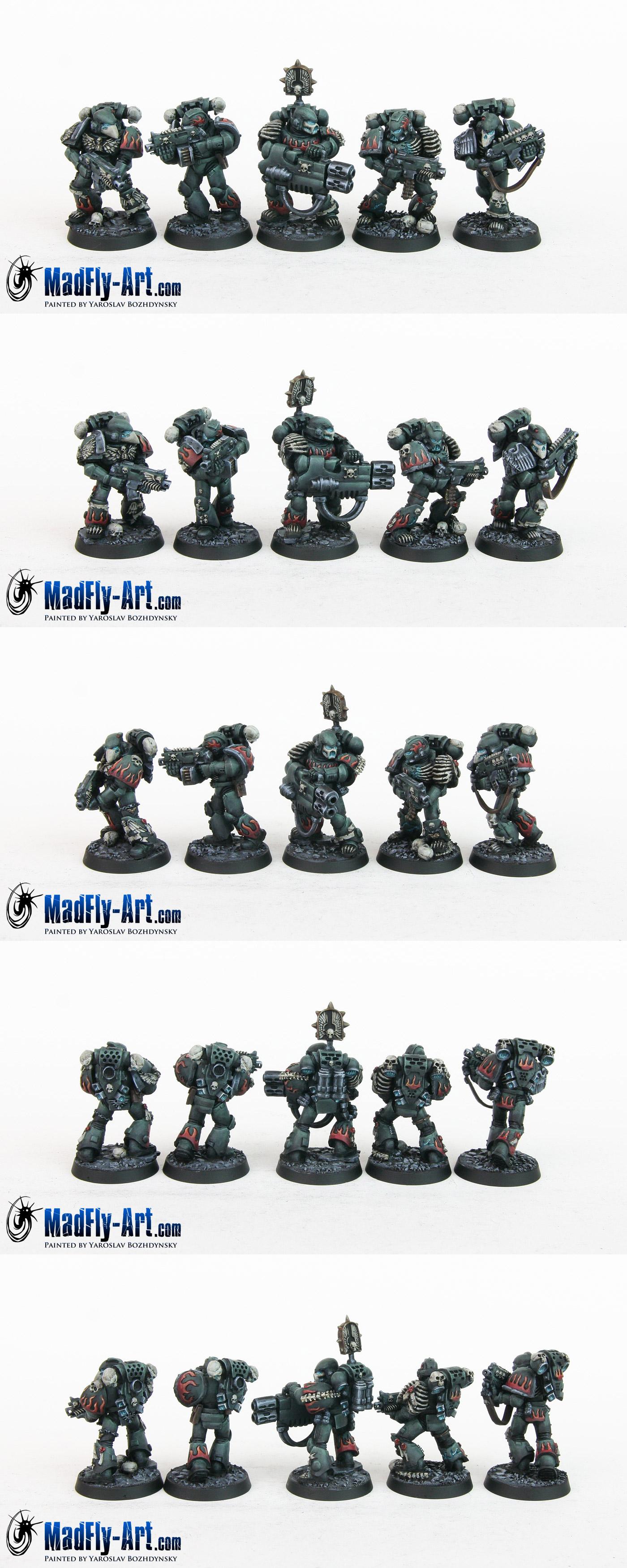 Damned Legionnaires Squad