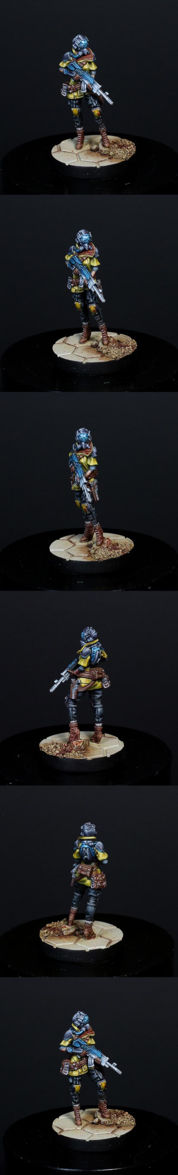 Infinity Mercenary Brawler