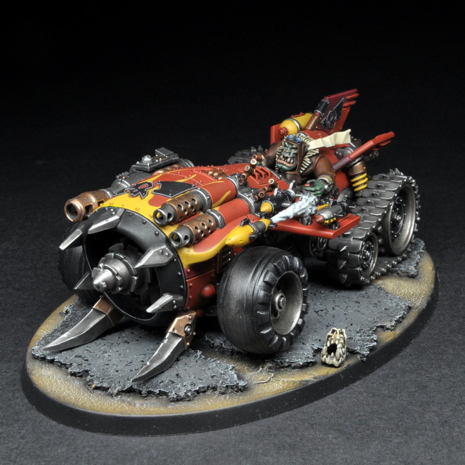 Megatrakk Scrapjet Ork Speed Freeks by red_gobbo