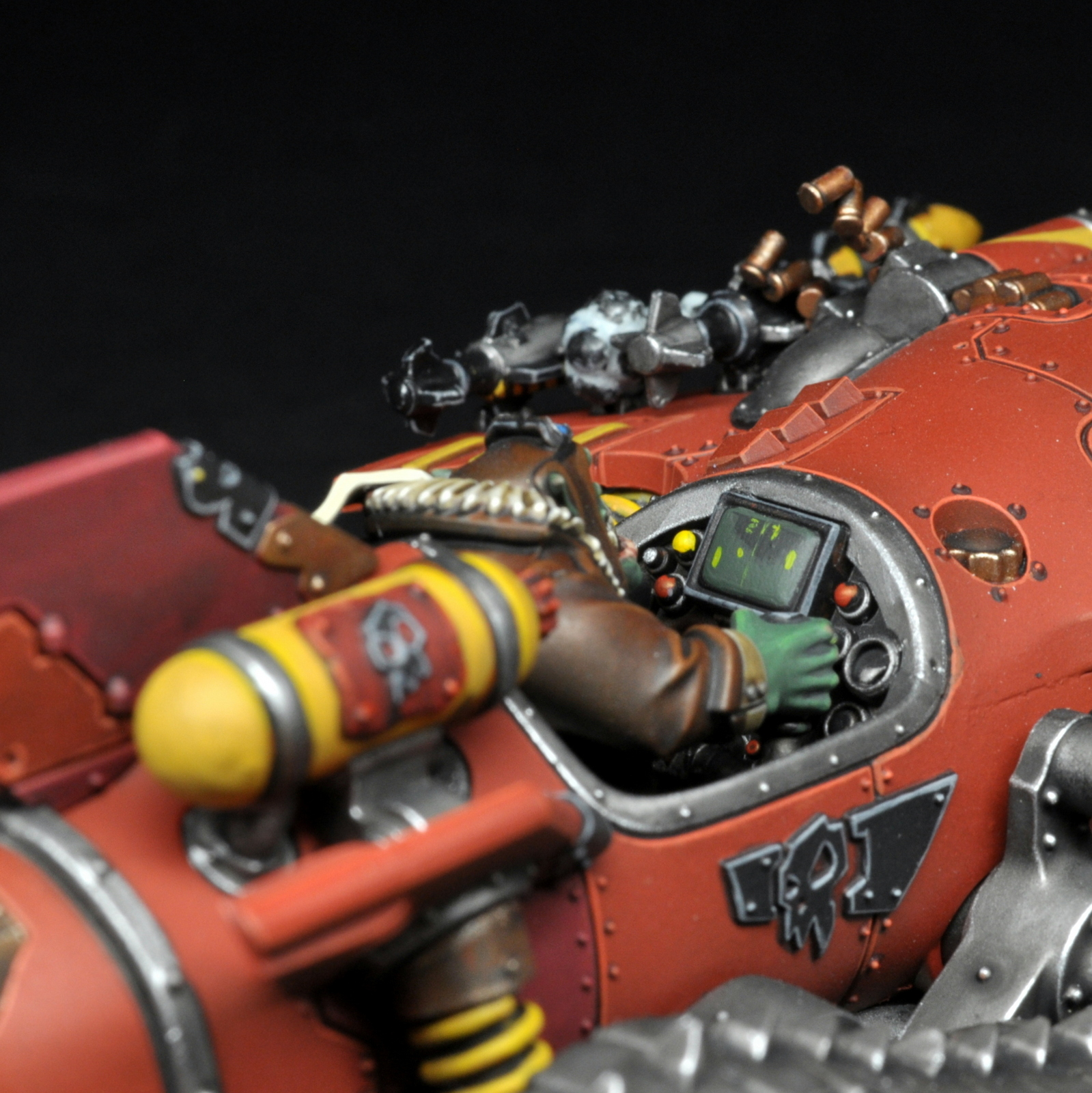 Megatrakk Scrapjet Ork Speed Freeks by red_gobbo