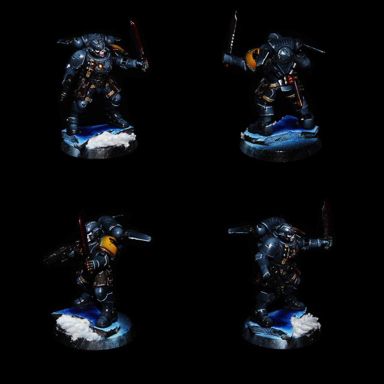 Space Wolves Primaris Reivers