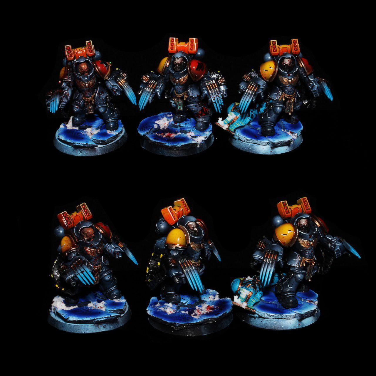 Space Wolves Primaris Aggressors